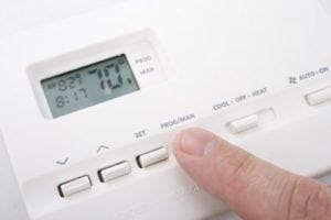what causes AC lines to freeze