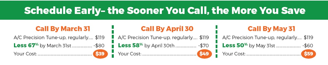 Call for A/C Tune-up
